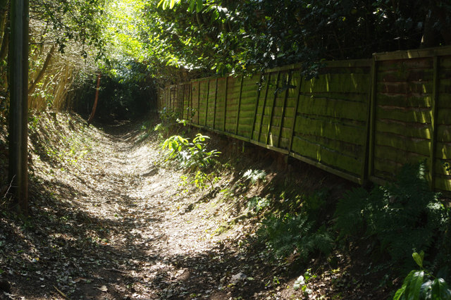 Footpath off Macclesfield Road