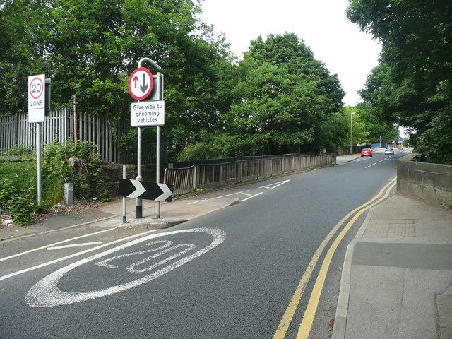 Railway bridge, Butcher Hill, West Park, Leeds