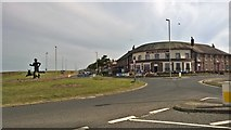 NZ3766 : The New Crown, South Shields by Chris Morgan