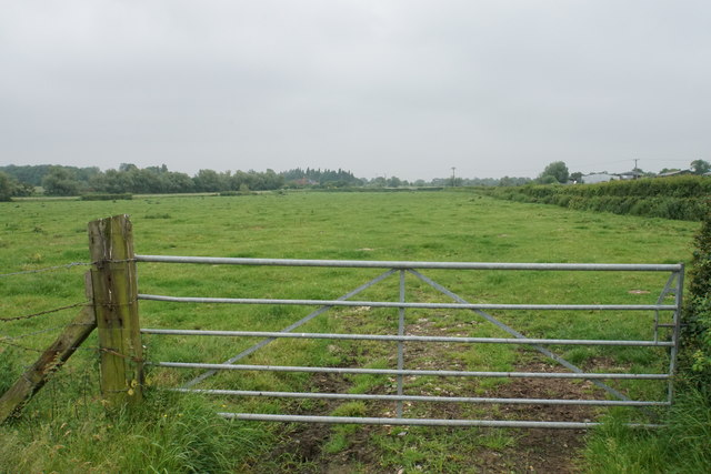 Gate into the next field