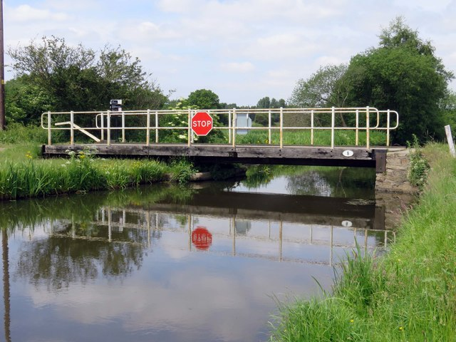 Town Meadow Bridge over the Leeds and Liverpool Canal Rufford Branch