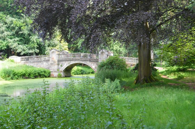 Weston Park - Paine's Bridge