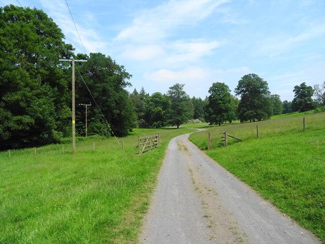 Weston Park - Perimeter track