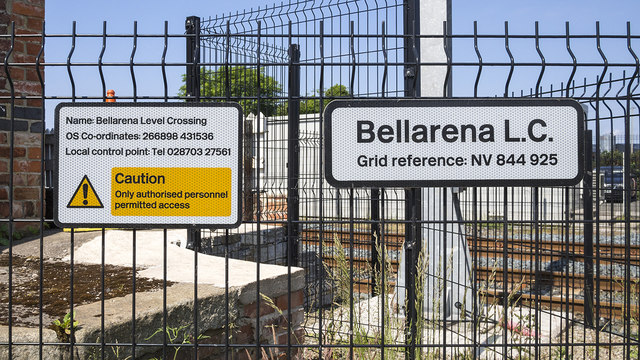 Signs, Bellarena Railway Station