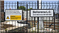 C6631 : Signs, Bellarena Railway Station by Rossographer