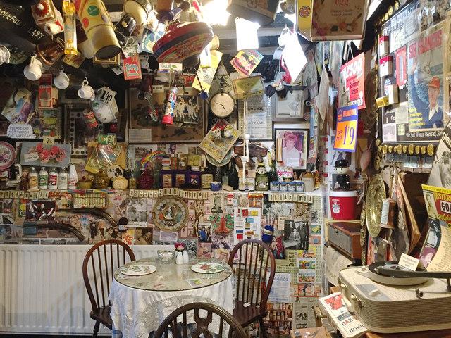 Back room, Abbey Tea Rooms, Church Street, Tewkesbury