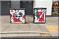 SO9422 : Street art, High Street, Cheltenham by Robin Stott