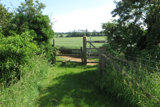 Footpath to Cottisford