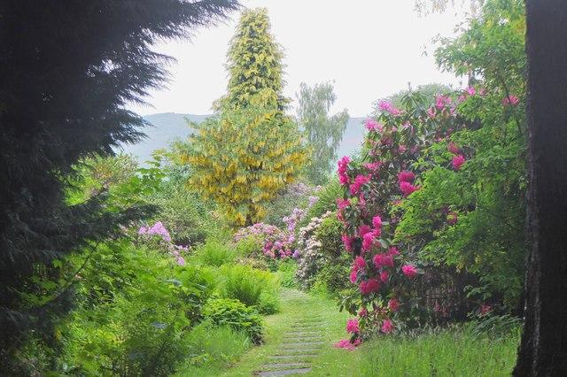 In Kailzie Gardens