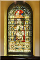 SJ8398 : The Nativity Window, St Ann's Church by David Dixon