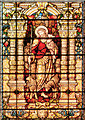 SJ8398 : St Ann's Church East Window - The Good Shepherd by David Dixon