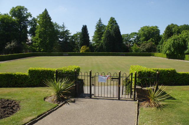 Bowling green - Victoria Park, Macclesfield