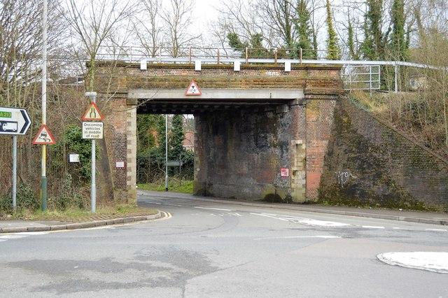 Railway Bridge, Sandhurst Rd by N Chadwick