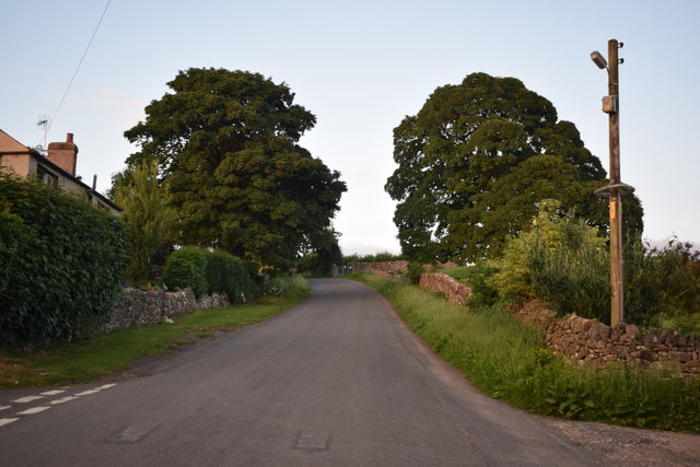 Road east out of Uldale