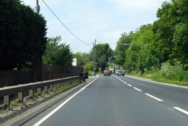 A36 entering the environs of Salisbury