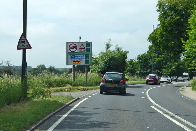 A36 into Salisbury