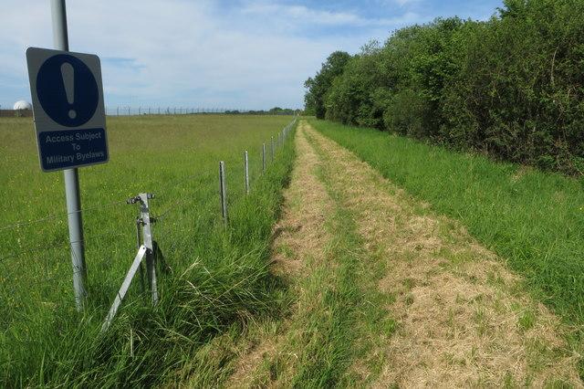 Bridleway to Tusmore
