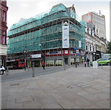 ST3188 : Development of Albany Chambers in Newport city centre by Jaggery