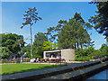SZ0890 : Kiosk, Lower Gardens, Bournemouth by Robin Drayton