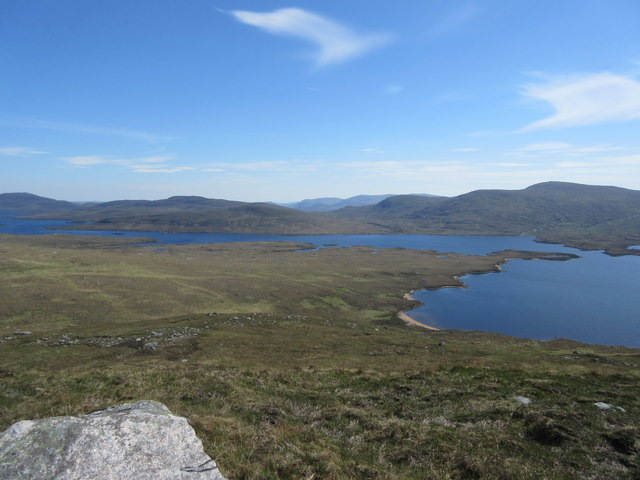 View from Sgalabhal Shanndaig