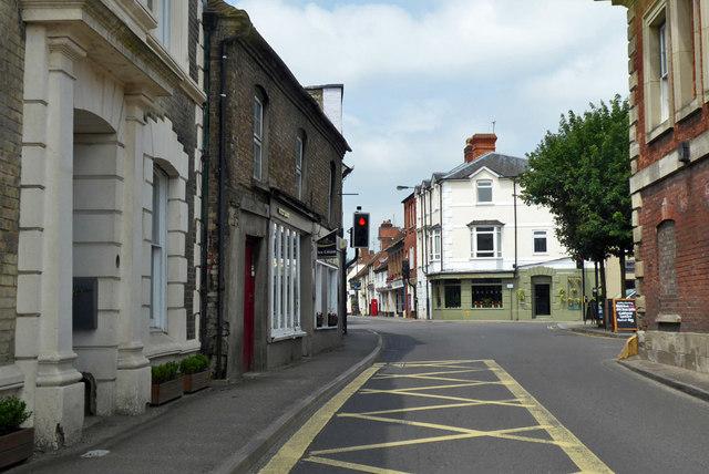Town centre, Wilton