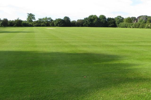 Cricket ground at Tusmore Park