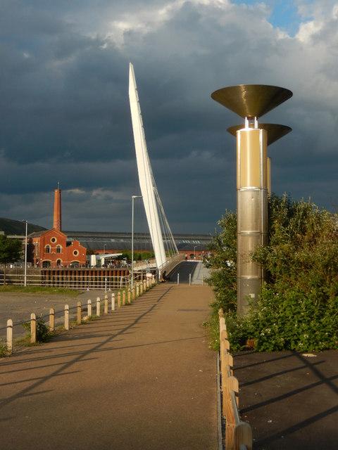 The Sail Bridge, Swansea