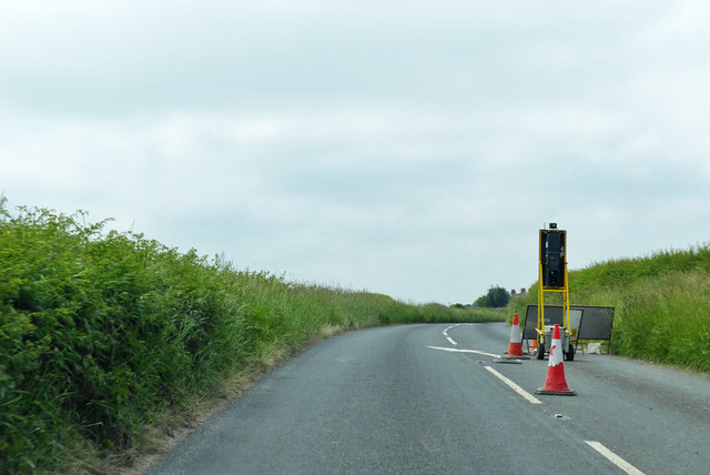 End of A30 road works, Swallowcliffe