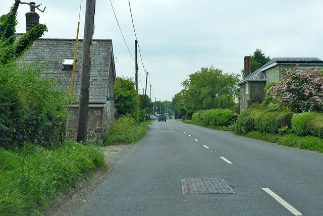 A30 heading west by Windyridge Farm