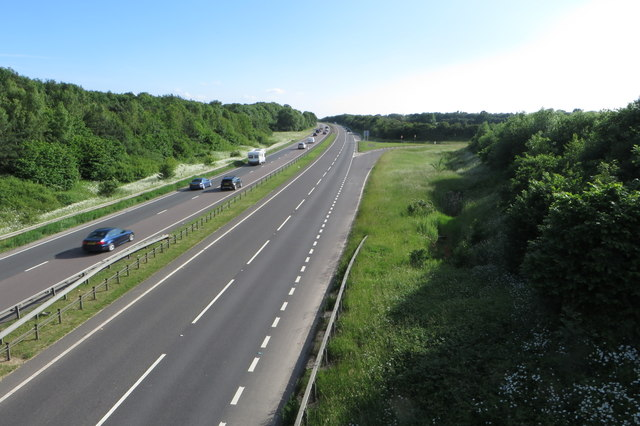 A43 looking south