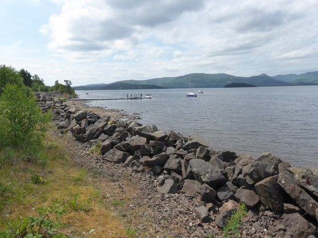 View from SE Shore of Loch Lomond