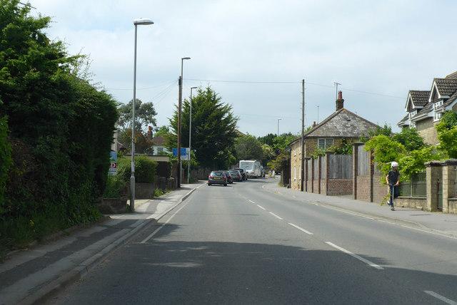 B3081 into Gillingham