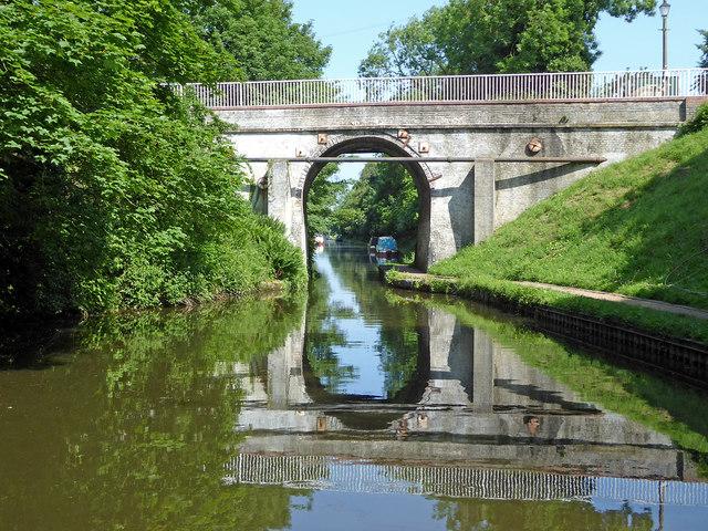 Brewood Bridge in Staffordshire