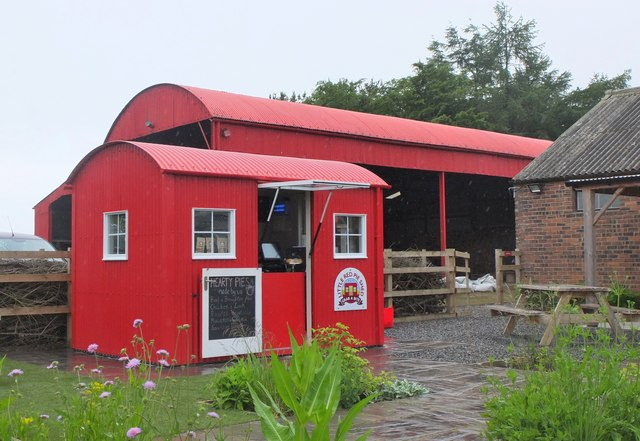 The Little Red Pie Shed