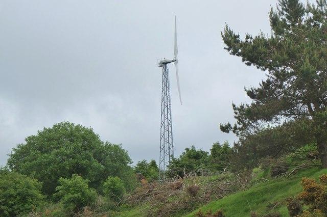 Wind turbine near Melbourne