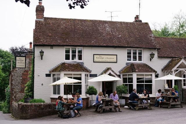 'The George', Burpham