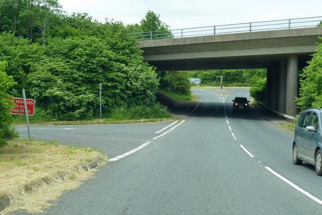 A303 bridge over B3081