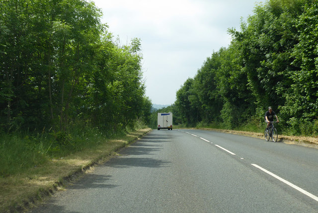 B3081 towards Bruton