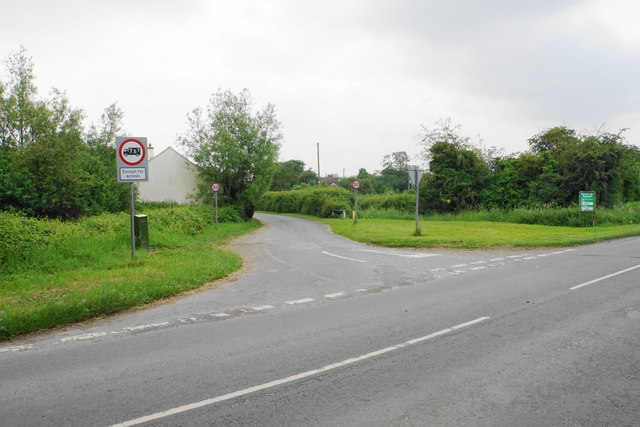 Side road through the village