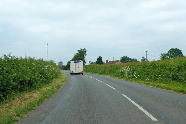 B3081 heading north-west