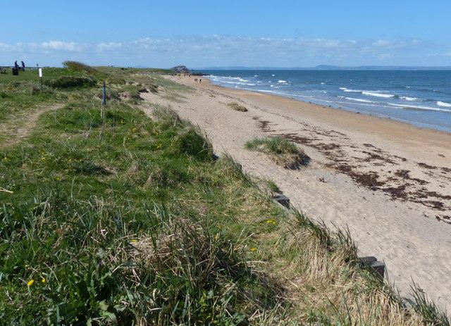 The beach at North Berwick Bay