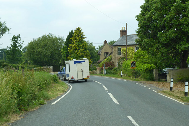 Bend on B3081, Charlton Musgrove