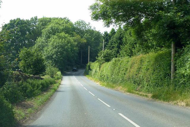 B3081 heading north-west