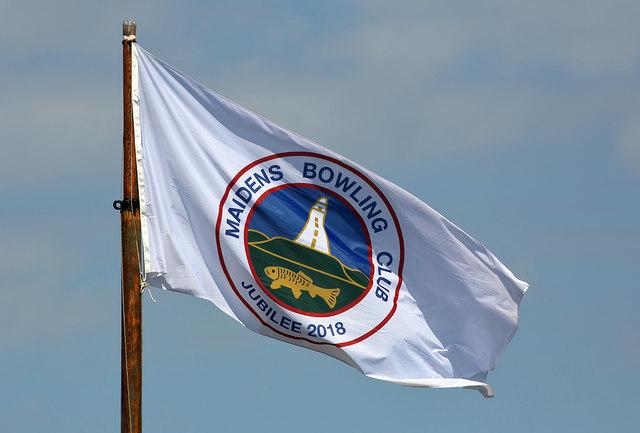 Maidens Bowling Club flag