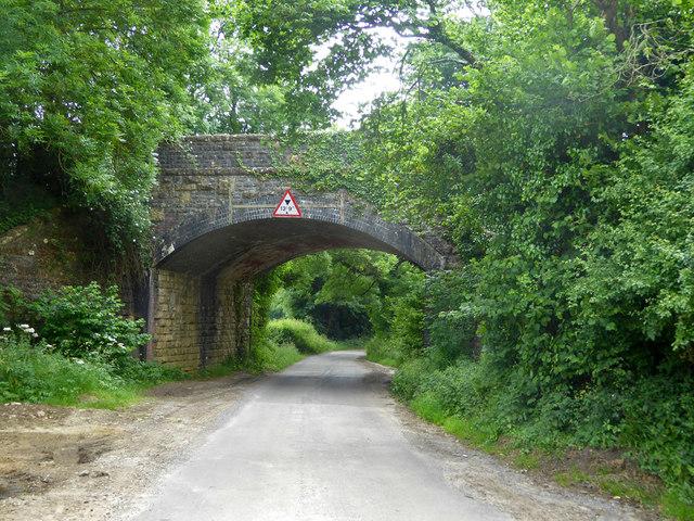 Former railway bridge, Lower Shepton
