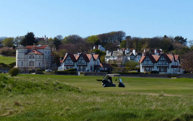 Houses on West Links Road, Gullane