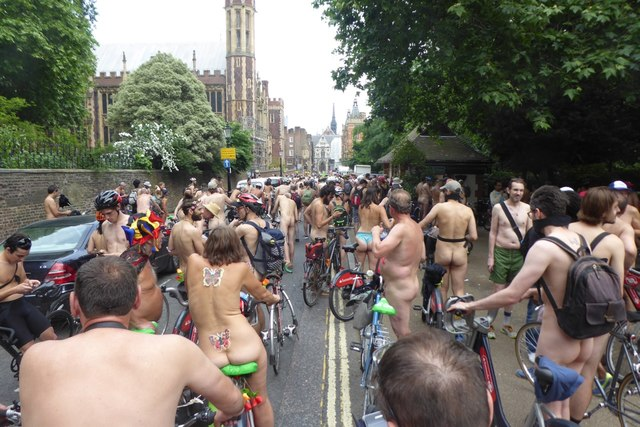 Lincoln's Inn Fields with the 2018 WNBR