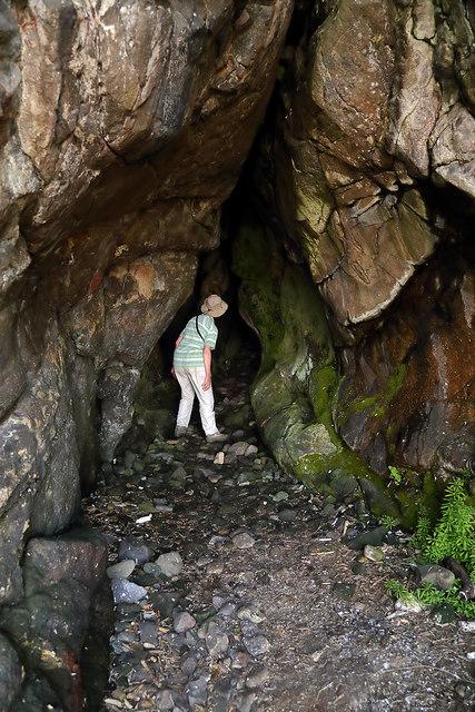 A cave at Culzean