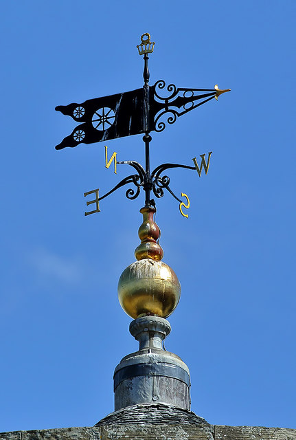 The weather vane at Culzean Castle