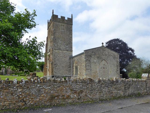 Shepton Montague church